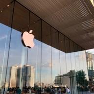 บรรยากาศ Apple Store Iconsiam