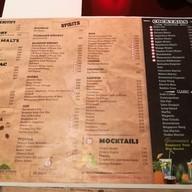 เมนู HaVaNa Bar Holiday Inn Pattaya