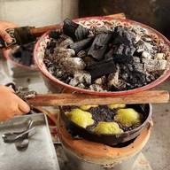 บรรยากาศ ขนมครกใบเตยจูมีเมืองสายบุรี