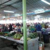 บรรยากาศ ตลาดนัดใต้สะพานโคกเมา