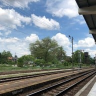 บรรยากาศ จุดถ่ายรูปสถานีรถไฟพัทลุง