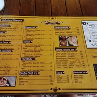 เมนู Libernard cafe Chiangmai