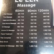 Le Lek Massage Yen Akat เย็นอากาศ  Yen Akat