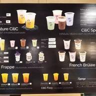 เมนู CiliC Tea - premium bubble & cream cheese tea shop อาคารจามจุรีสแควร์