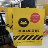 เมนูของร้าน IRVINS Salted Egg เซ็นทรัลเวิลด์