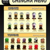 เมนู CHINCHA ชานมไข่มุกตักเอง เดิมบางนางบวช