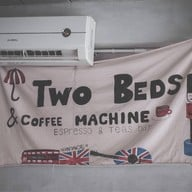 Two Beds & Coffee Machine