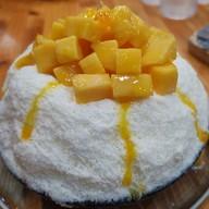 Sugar ice-bingsu