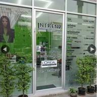 หน้าร้าน ร้านทำผมIntrend hair design อยุธยาซิตี้ปาร์ค