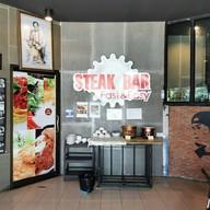 บรรยากาศ Steak Bar Fast & Easy ปั๊มปตท. ทางเข้าสนามบินนานาชาติ