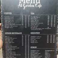 เมนู At Garden Cafe