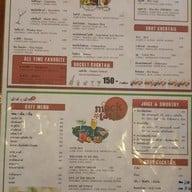 เมนู MOUTH 2 MOUTH Cafe Bar