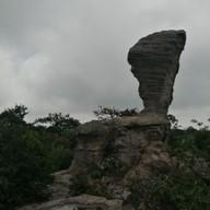 บรรยากาศ ลานหินงาม (ป่าหินงาม)