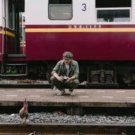 บรรยากาศ สถานีรถไฟธนบุรี