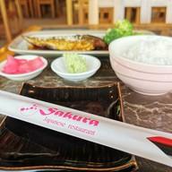 เมนูของร้าน Sakura
