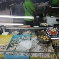 หน้าร้าน ข้าวต้มปลาแป๊ะจั๊ว ตลาดใหม่นาเกลือ