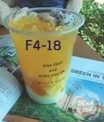 เมนูของร้าน Fiiin Dessert Cafe