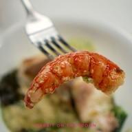 """Grouper & 'Xerém'"" Grouper / Shellfish 'Xerem' / Mazara del Vallo Red Prawn"