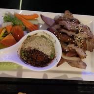 เมนูของร้าน Scala Dinner Bangsan Beach