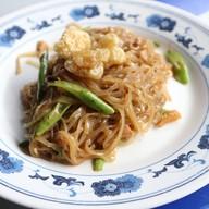 เมนูของร้าน ผัดไทยตรอกบ้านจีน