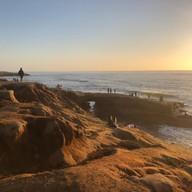 Sunset Cliff Sandiego