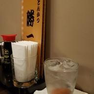 เมนูของร้าน Katsuichi