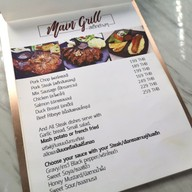 เมนู Bar We Grill Cafe & Restaurant