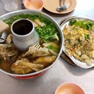 เมนูของร้าน ข้าวต้มปลา หัวปลาหม้อไฟมหาลาภ