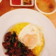 เมนูของร้าน Yellow Rice