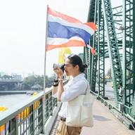 บรรยากาศ ท่าเรือสะพานพุทธ