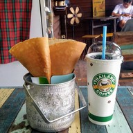SIRA coffee cup & crepe