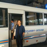 บรรยากาศ สถานีเดินรถโดยสารขนาดเล็ก(จตุจักร)