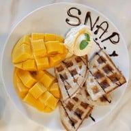 เมนูของร้าน Snap Cafe'