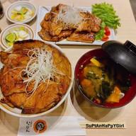 เมนูของร้าน Tokachi Butadon Ippin (十勝豚丼いっぴん ステラプレイス) Stellar Place Sapporo Station