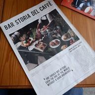 เมนู Bar Storia del Caffè อารีย์