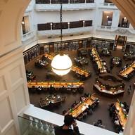 บรรยากาศ State Library Victoria