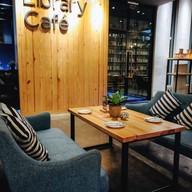บรรยากาศ Library Cafe'