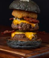 เมนูของร้าน Jim's Burger centralwOrld
