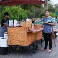 หน้าร้าน Vagabond Coffee Stand -