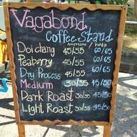 เมนู Vagabond Coffee Stand -