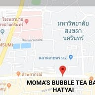 เมนูของร้าน Moma's Bubble Tea Hatyai หาดใหญ่ ถ.ปุณณกัณฑ์