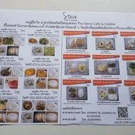 เมนู Steve Cafe & Cuisine ผ่านฟ้า