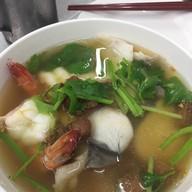 เมนูของร้าน เฮียหวาน ข้าวต้มปลา