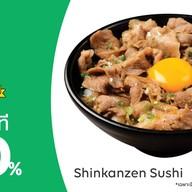 Shinkanzen sushi ธรรมศาสตร์ รังสิต