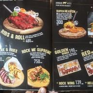 เมนู Rock Me Burgers & Bar คูเมืองชั้นนอก