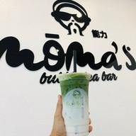 เมนูของร้าน Moma's Bubble Tea Bar โลตัสชัยนาท