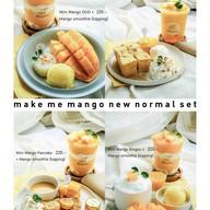 เมนูของร้าน Make Me Mango ท่าเตียน