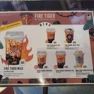 เมนู Fire Tiger by Seoulcial Club (เสือพ่นไฟ) Siam Square Soi 7