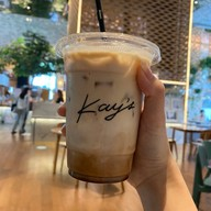 เมนูของร้าน Kay's Boutique cafe Central Embassy
