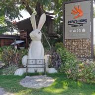 หน้าร้าน Papa'home Rabbit Cafè